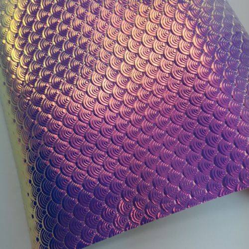 Purple Mermaid Fabric